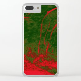 """""""Infectious Stalker"""" Clear iPhone Case"""