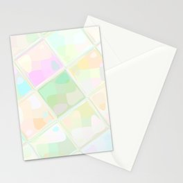 Re-Created Mirrored SQ LIX by Robert S. Lee Stationery Cards