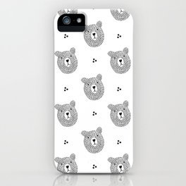 Don´ t worry, bear happy! iPhone Case