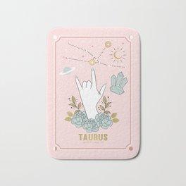 Taurus Zodiac Series Bath Mat