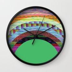 glitchbow Wall Clock