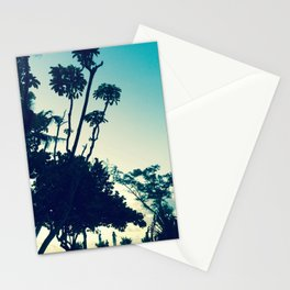 Look at the silhouette of the tree against the evening sky! Stationery Cards