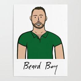 Beard Boy: Damien Poster