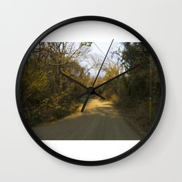 El Camino II Wall Clock
