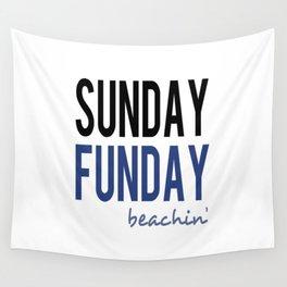 Sunday Funday Beachin' Wall Tapestry