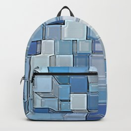 Blue Cubes Backpack