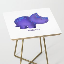Tricerotops Side Table