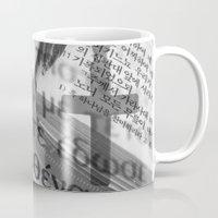 bible Mugs featuring Multilingual Bible Study by Clayton Jones