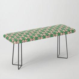 KEYAH - Green & pink Bench