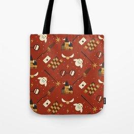 Wizarding Pattern Tote Bag