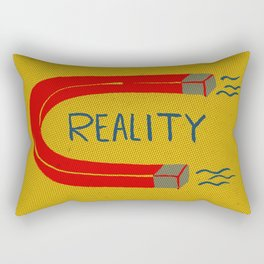 Reality Rectangular Pillow