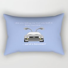 Back to the Future - Delorean Rectangular Pillow