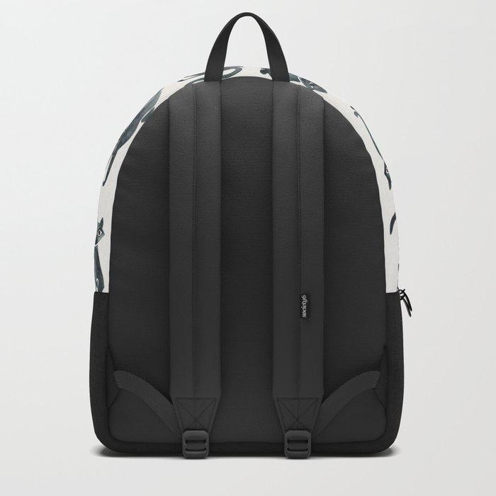 Cat Positions – Black Palette Backpack