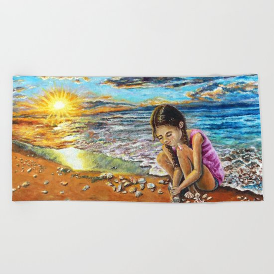 Treasure Hunter Beach Towel