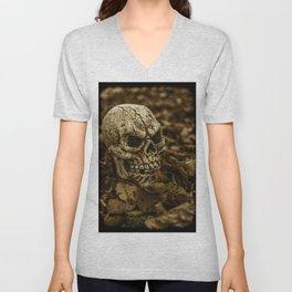 Halloween Skull 2 Unisex V-Neck