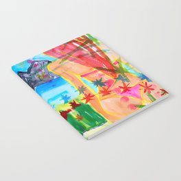 Koh pipi island in Thailand Notebook