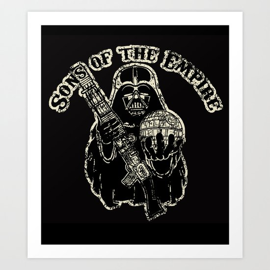 Sons of empire badge Art Print