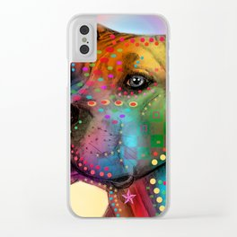 dog Clear iPhone Case