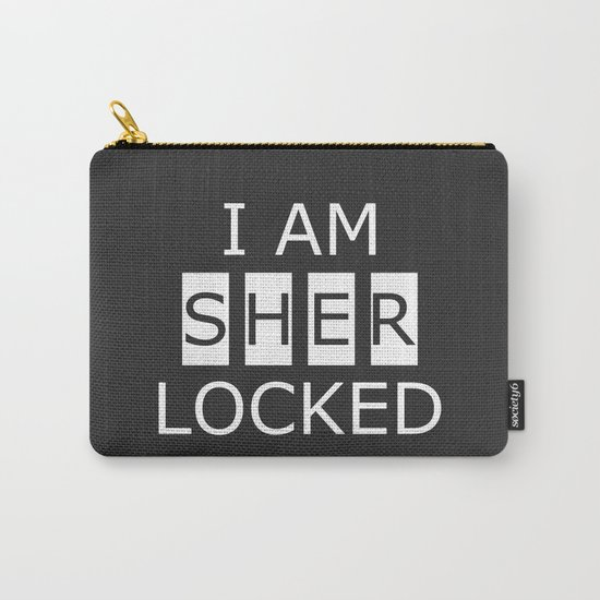 I AM SHERLOCKED Carry-All Pouch