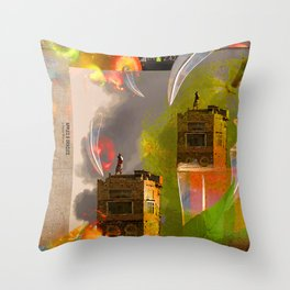APPLES & ORACLES Throw Pillow