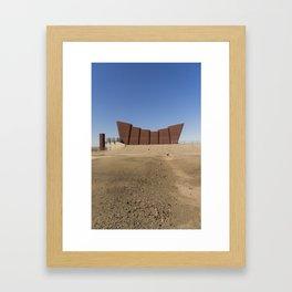 Line of Lode Miners Memorial Framed Art Print
