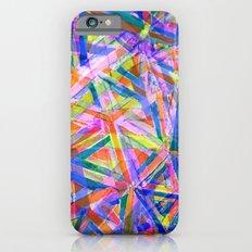 Triangle color splash iPhone 6s Slim Case