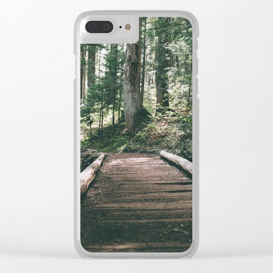 Happy Trails X Clear iPhone Case