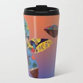 Florecitas rockeras Travel Mug