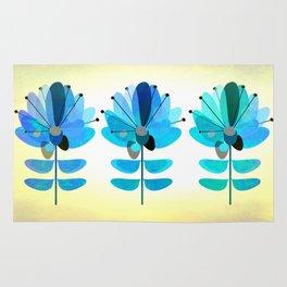 Die Blaue Blume Rug