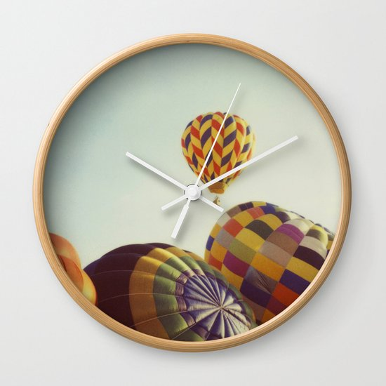 Away We Go Wall Clock