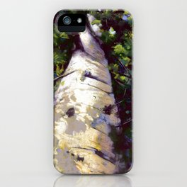 Looking Up! iPhone Case