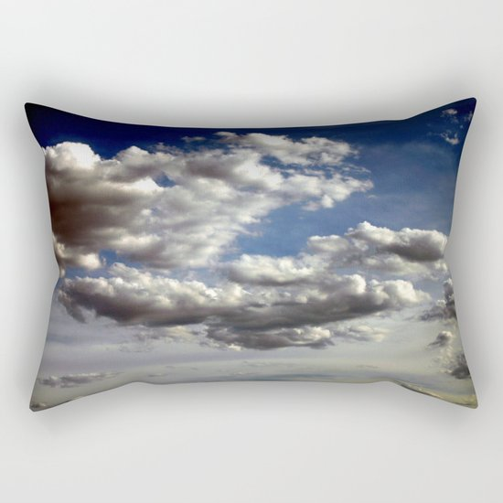 Cloud Formations Rectangular Pillow