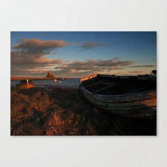 Holy Island Canvas Print
