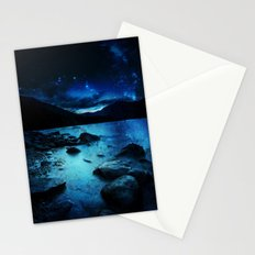 Magical Mountain Lake Stationery Cards