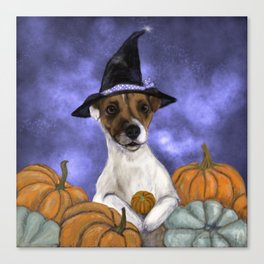 Mabel, Queen of the Pumpkin Patch Canvas Print