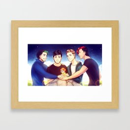 When I see you again Framed Art Print