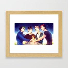 When I see you again Framed Art Print