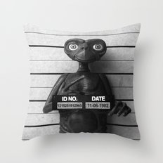 E.T. The Extra-Terrestrial Lineup Throw Pillow