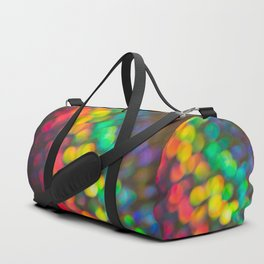 Rainbow Bokeh 1 Duffle Bag
