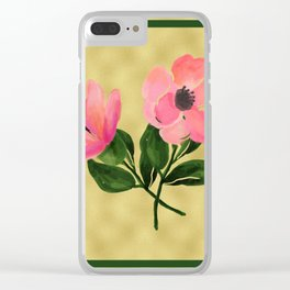 flower 2.0 Clear iPhone Case