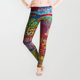 Lakewood Painted Leggings