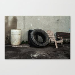 Waiting room Canvas Print