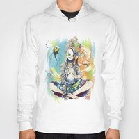 sandman Hoodies featuring Delirium by Archiri Usagi