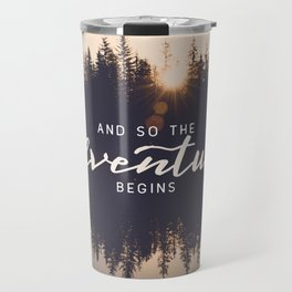 And So the Adventure Begins II Travel Mug