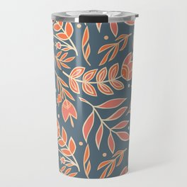 Loquacious Floral Travel Mug