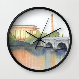 DC Reflection Wall Clock