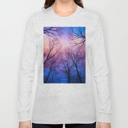 A New Day Will Dawn  (Day Tree Silhouettes) Long Sleeve T-shirt