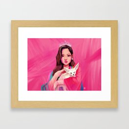 BLACKPINK Jennie Framed Art Print