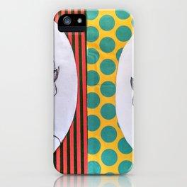 dama del paraguas iPhone Case