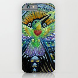 Colibri / Beija Flor II iPhone Case